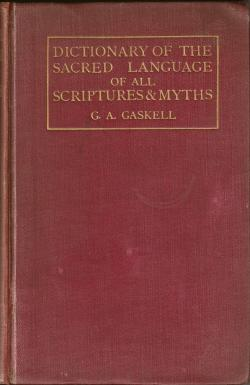 Dictionary of the Sacred Language